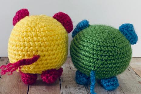 Kitty Amigurumi Crochet PATTERN