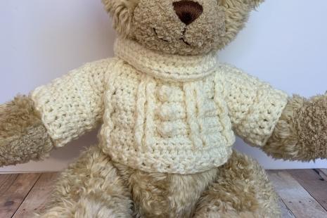 Build-A-Bear Turtleneck Sweater Crochet Pattern