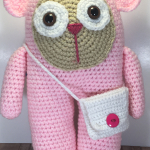 Pink bear