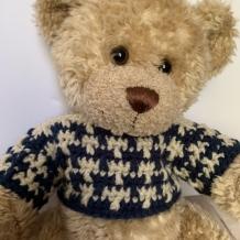Build-A-Bear Spike Sweater Crochet Pattern