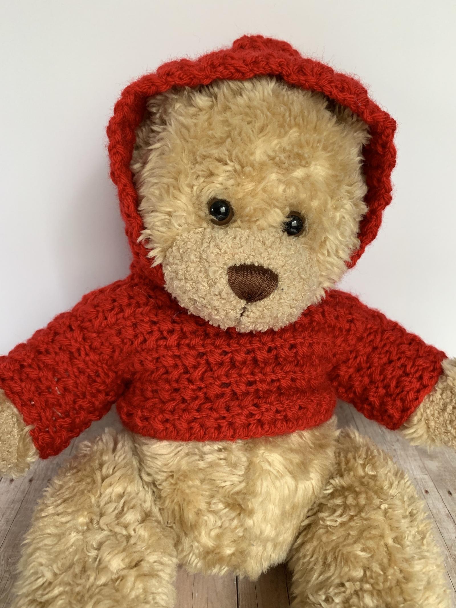 Amigurumi Teddy Bear in a Sweater Free Crochet Pattern ...   2133x1600