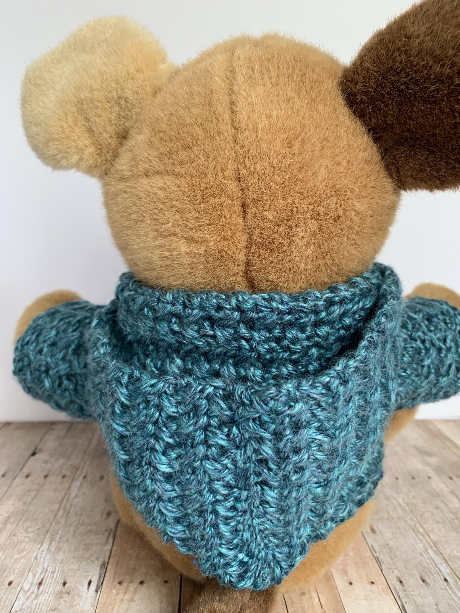 Baby Bear Hoodie Crochet Pattern • Oombawka Design Crochet   2133x1600